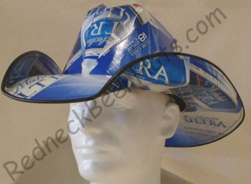 Redneck Beer Hats Eye Popping Beer Box Cowboy Hats