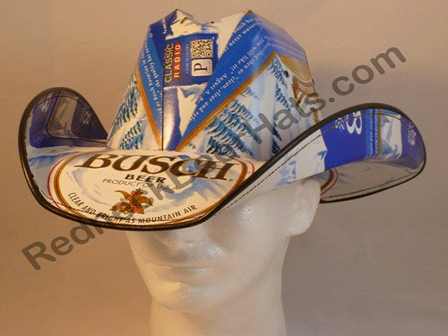 17ad741d1c4 Beer Hats - Redneck Cowboy Beer Box Case Carton Party Hats