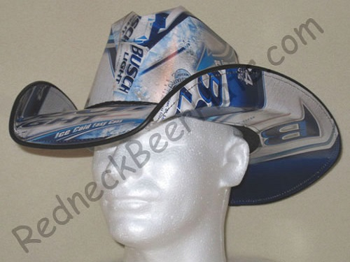 Busch-Light-Beer-Cowboy-Hat