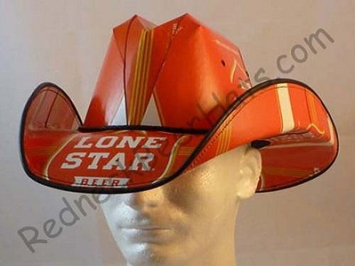 Lone Star Style Beer Box Cowboy Hat 21da56b6858