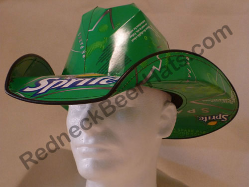 cd5a2d09fb7e7 Sprite Style Soda Carton Cowboy Hat