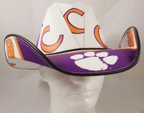 bdde6ec031a Clemson Tigers Cowboy Hats