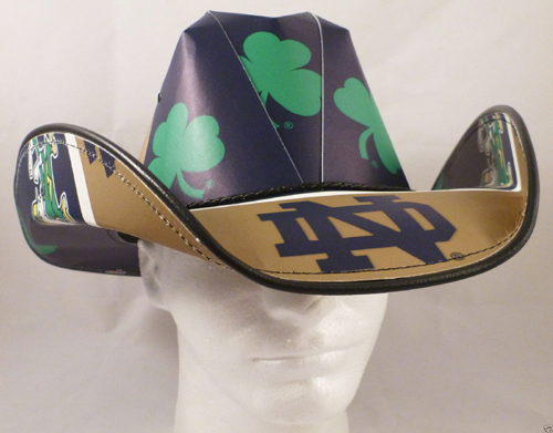 Notre Dame Fighting Irish Cowboy Hats  66abdbafe08