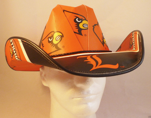 9a4de1e8c17 University of Louisville Cardinals Cowboy Hat